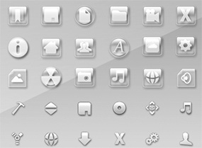 Clear Crystal Icons